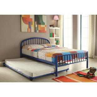 Winston Porter Kinner Metal Full Panel Bed