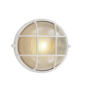 Shop For Lia 1-Light Outdoor Bulkhead Light By Beachcrest Home