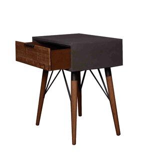 Navasota Wooden End Table ..