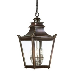 Darby Home Co Annett 3-Light Outdoor Hanging Lantern