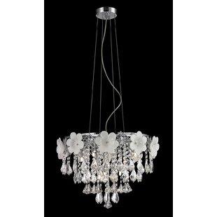 House of Hampton Bernard 8-Light Crystal Chandelier