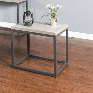 Comparison Kierra End Table by Union Rustic