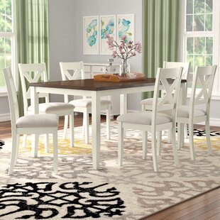 Nadine 7 Piece Breakfast Nook Dining Set by Darby Home Co