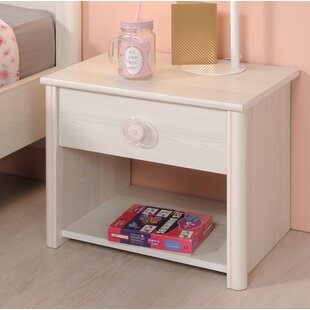 Richbell 1 Drawer Nightstand by Harriet Bee
