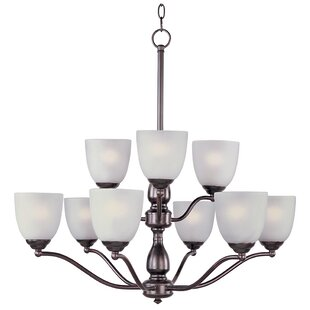 Winston Porter Callimont 9-Light Shaded Chandelier