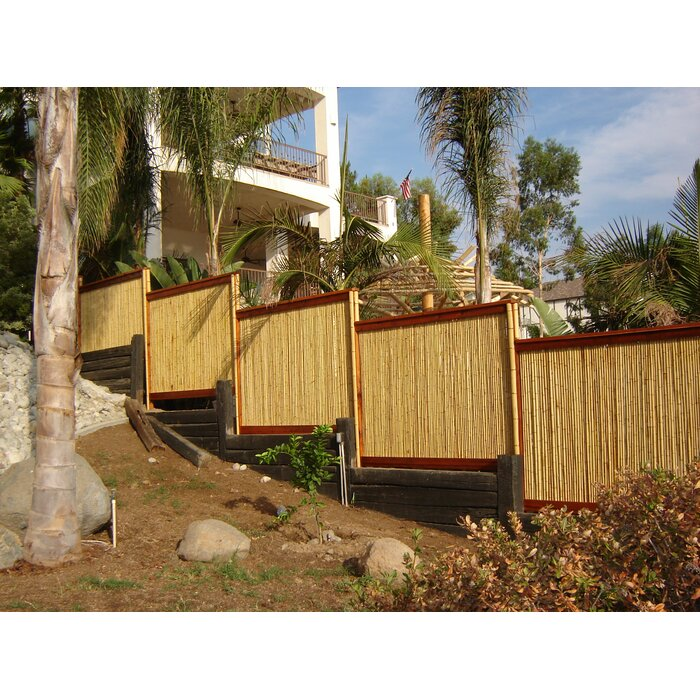 X-Scapes Rolled Bamboo Fencing