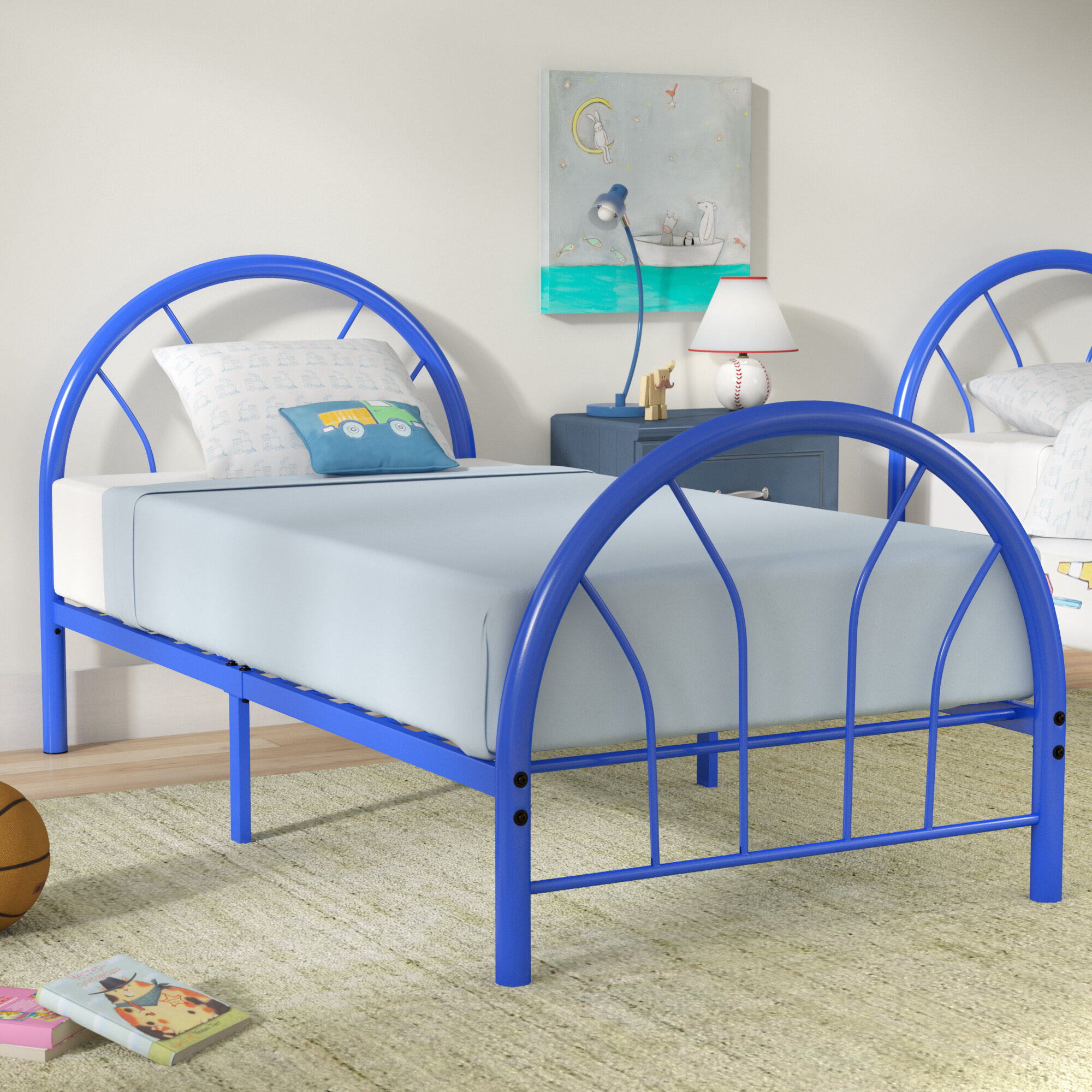 Viv + Rae Jonathon Twin Metal Bed & Reviews | Wayfair