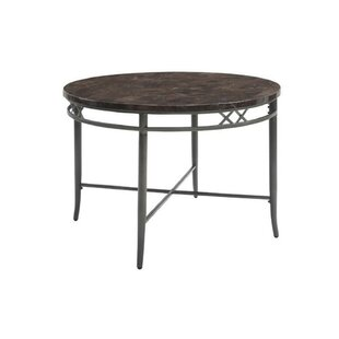 Statesboro Metal Frame Dining Table by Fleur De Lis Living Best Choices