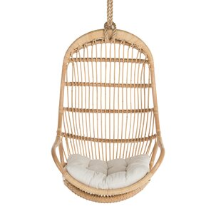 Briaroaks Hanging Rattan Swing Chair