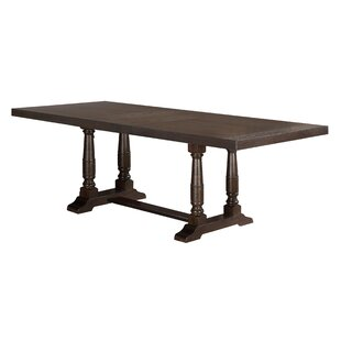 Fortunat Extendable Solid Wood Dining Table
