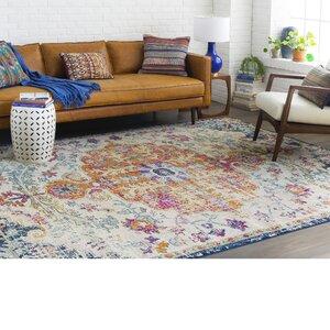 Hillsby Saffron/Blue Area Rug