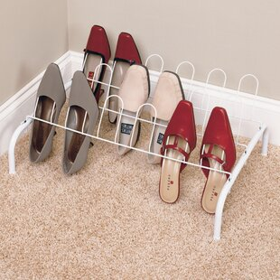 Best Reviews 9-Pair 1 Tier Shoe Rack By ClosetMaid