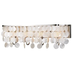 Beachcrest Home Navua Capiz Shell 4-Light Bath Bar