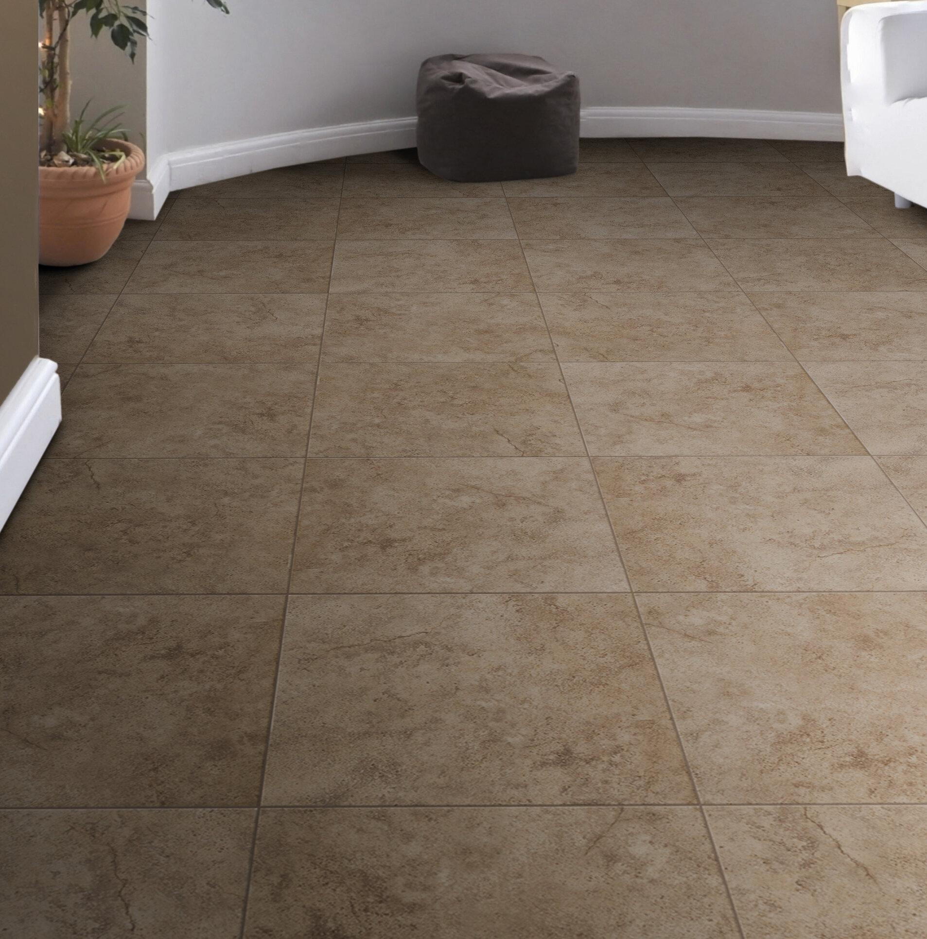 Toledo 17 X Ceramic Field Tile In Brown