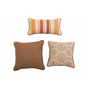Espitia Magic Carpet Ogee 3 Piece Pillow Set