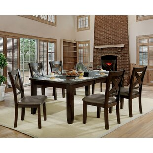 Wegman 7 Piece Extendable Dining Set Andrew Home Studio
