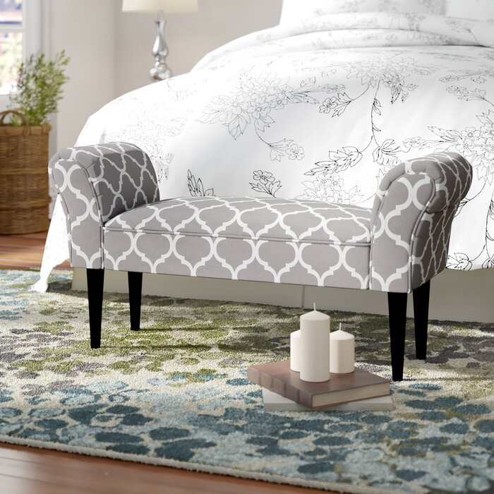 Busby Vanity Arm Upholstered Bedroom bench