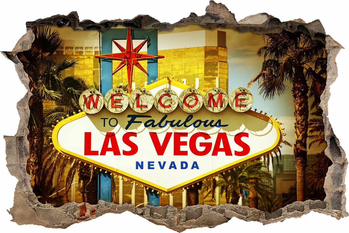 Famous Las Vegas Wall Decor Adornment - Wall Art Collections ...