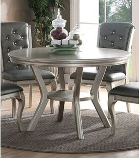House of Hampton Engel Rubber Wood Dining Table
