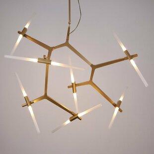 Bright 8 Light Sputnik Chandelier