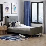 Mica Tufted Upholstered Platform Bed by Langley Street™