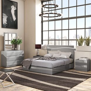Orren Ellis Moumoune Platform 5 Piece Bedroom Set