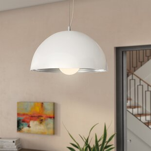 Kennedy 1-Light Dome Pendant by Zipcode Design
