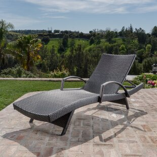 Rebello Adjustable Chaise Lounge by Sol 72 Outdoor