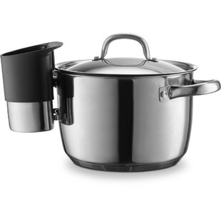 Stainless Steel Utensil Crock