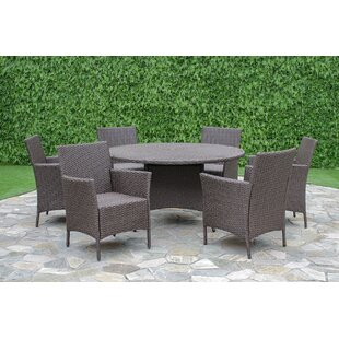 Brayden Studio Fortenberry 7 Piece Dining Set