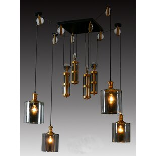 Ciotti 4-Light Cluster Pendant by 17 Stories