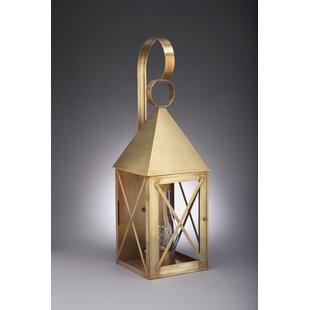 Gipson 1-Light Outdoor Wall Lantern by Al..