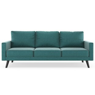 Cowden Mod Velvet Sofa