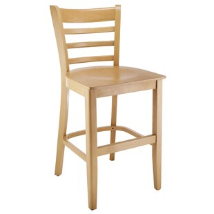 Jimison Ladderback 24 Bar Stool Charlton Home