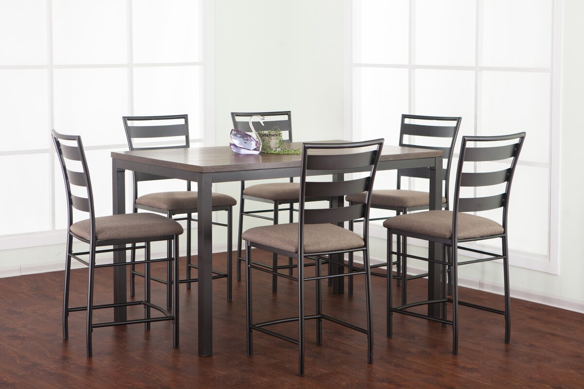 round set dining white perfect room tall height bar counter top ingenuity tables high table kitchen