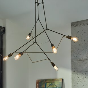 Extra long pendant light wayfair divergence 6 light cascade pendant aloadofball Choice Image