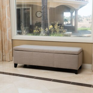Connie Upholstered Storage Bench by Latitude Run