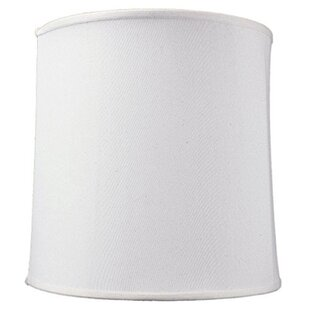 How to measure a lamp shade wayfair 15 linen drum lamp shade aloadofball Choice Image