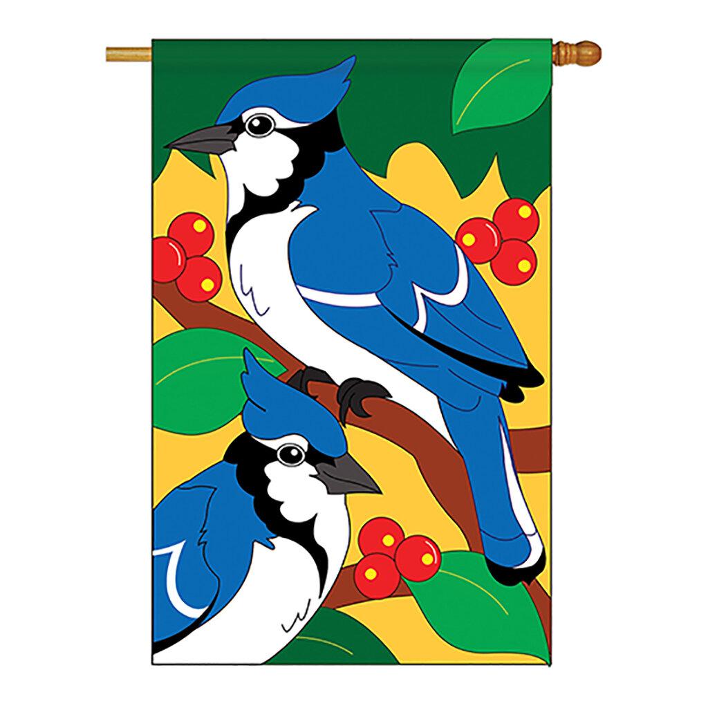 Breeze Decor Jays 2 Sided Polyester 40 X 28 In House Flag Wayfair
