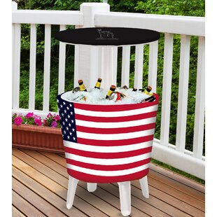 30 Qt. American Flag Indoor/Outdoor Event Cooler