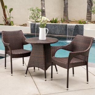 Getchell 3 Piece Bistro Set by Ebern Desi..