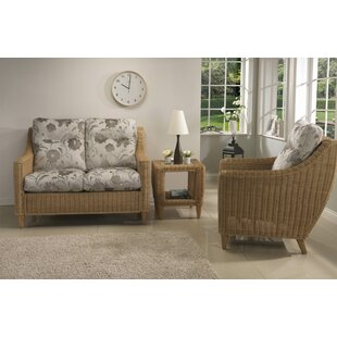 Kermit 3 Piece Conservatory Sofa Set By House Of Hampton