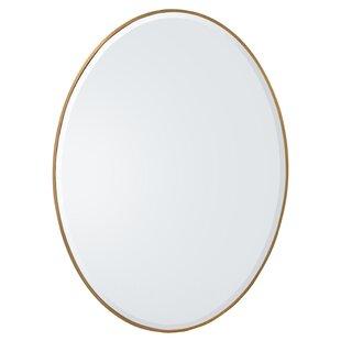Ovate Modern  Contemporary BathroomVanity Mirror