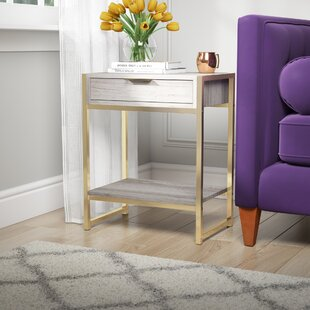 Haings End Table with Storage