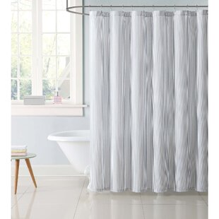 Dunnam Kids Stripe Single Shower Curtain