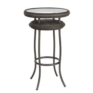 Canaveral Wicker/Rattan Bar Table by Woodard