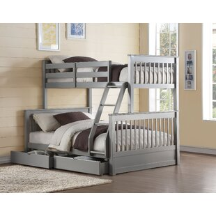 Price comparison Taya Twin/Full Bunk Bed with Drawers by Harriet Bee Reviews (2019) & Buyer's Guide