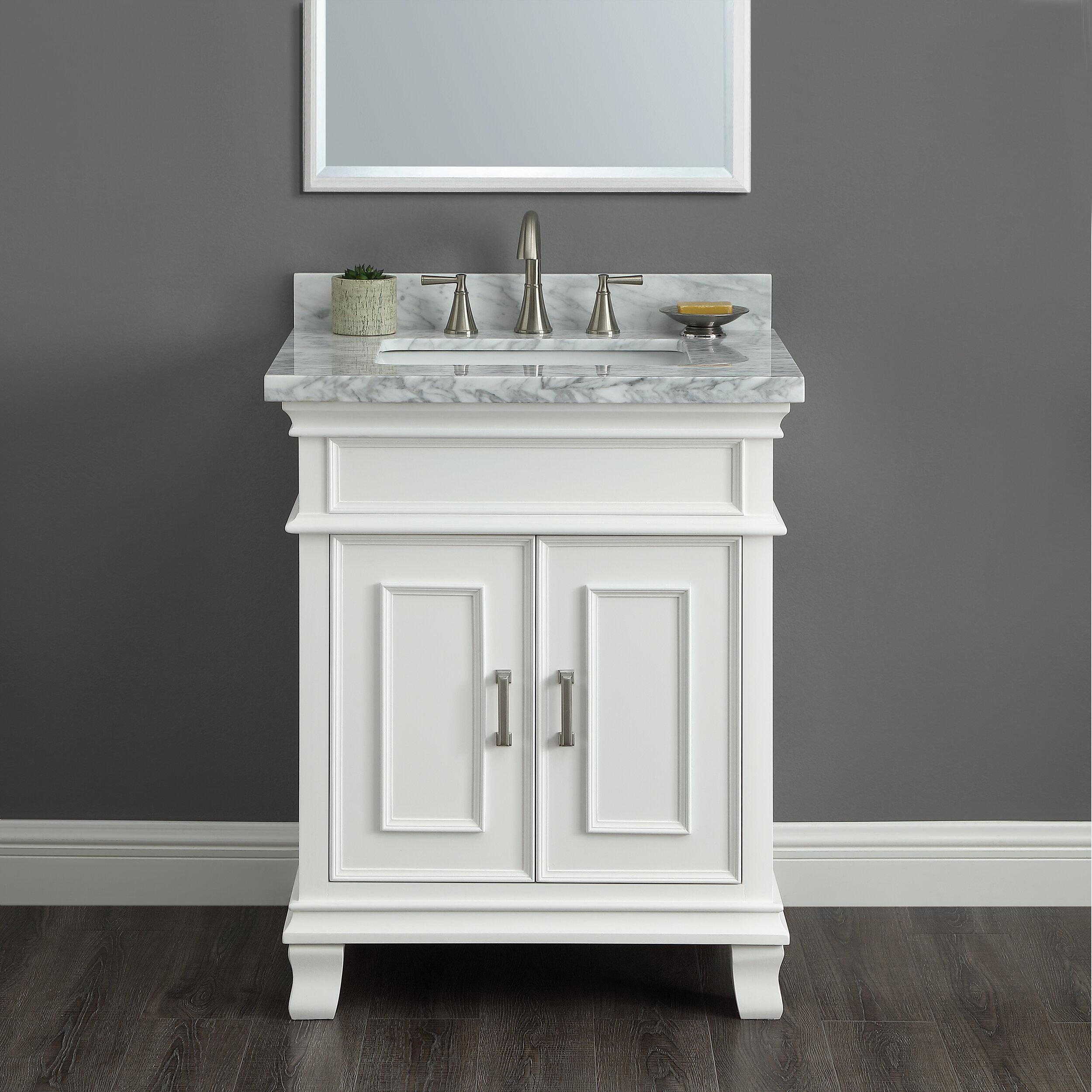 Red Barrel Studio Anneke 28 Single Bathroom Vanity Set Reviews Wayfair