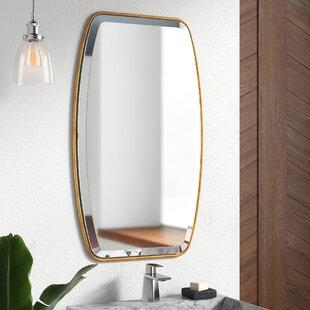 a1d629c56cc9 Duke Rectangle Gold Metal Wall Mirror