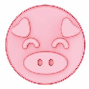 Non-Stick Pig Round Silicone Cake Mold